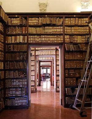 Archivio di Stato, Siena, interni