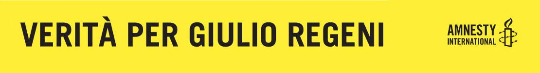 Verità per Giulio Regeni